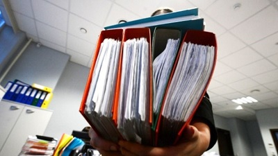 Хранение документов банка