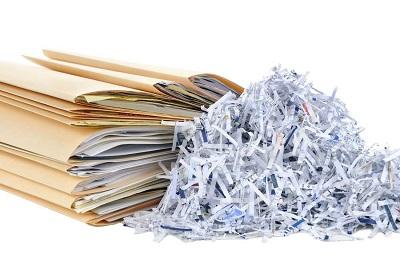 Уничтожение бухгалтерских документов